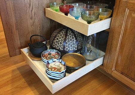 rollout sliding shelves